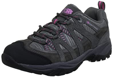 Karrimor Womens Traveller Supa ll L Trekking and Hiking Shoes K567-PTC-147 Pewter/Cochineal 5 UK, 38 EU, 6 US