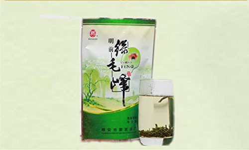 China'S Sichuan Province Mengshan 100 Grams Of Bags Maofeng Tea Green Tea Is Natural Tea Free Shipping
