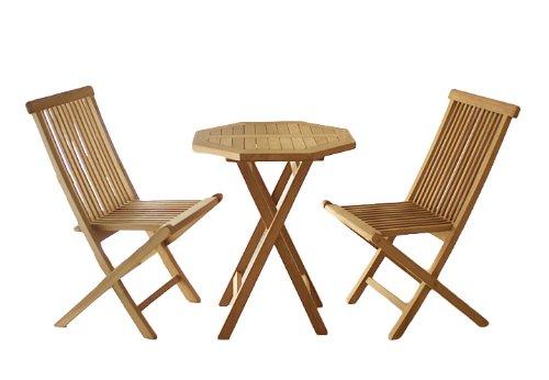 DIVERO-Gartenmbelset-Sitzgruppe-Teakholz-Tisch--60cm-3-tlg-Klappstuhl-3er-Set