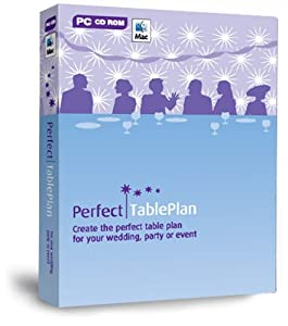 PerfectTablePlan Home Edition Wedding, Party Planner, Special Events Planning: Design and Print the Perfect Table Plan and Seating Arrangement Software (for PC or Mac) — by Oryx Digital. Platform: Windows, Mac