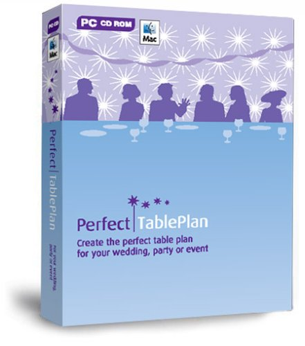 PerfectTablePlan Home Edition Wedding, Party Planner, Special Events Planning: Design and Print the Perfect Table Plan and Seating Arrangement Software (for PC or Mac)
