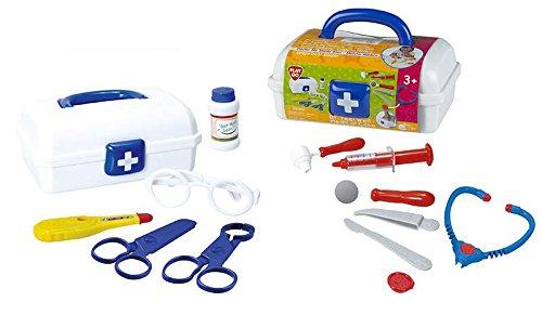 PlayGo - Maletín médico portátil, 12 piezas (Colorbaby 2905)