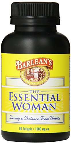 Barlean'S Organic Oils Essential Woman 1000 Mg Softgels, 60-Count Bottle front-216572
