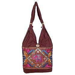 Womaniya Women's Shoulder Bag (Brown) (Woman-952)