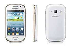 Samsung Galaxy Fame - 4 GB - White on O2 Pay & Go with £10 Airtime