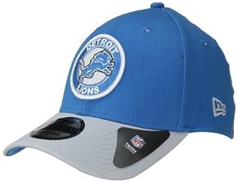 NFL Detroit Lions Ring It Up Classic 39Thirty Flex Fit Cap, Large/X-Large