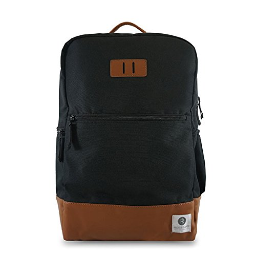 Ridgebake zaino caso NEVILLE CAVIAR SL BROWN nero Uomo Donna Bambini Laptop Backpack