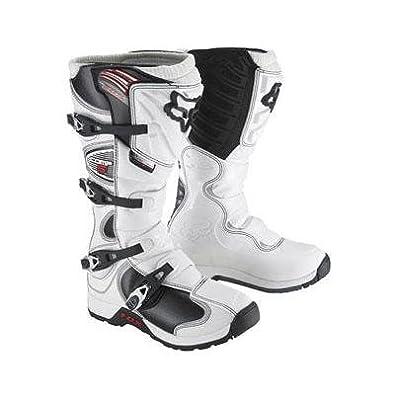 Fox Racing Comp 5 MX Bike Boots - White - 05023-008 (9)
