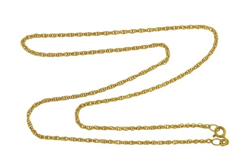 9ct Yellow Gold 35 Prince of Wales Chain 46cm