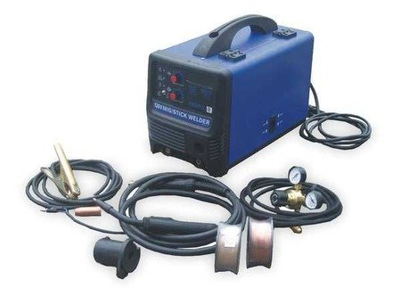 Low Price For Portable MIG Welders MIG/Stick Welder-Input 120V-OCV 75 With Deal