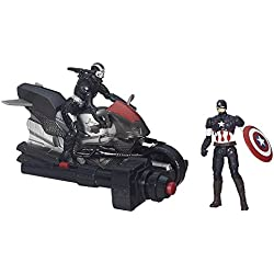 Marvel Avengers Age of Ultron Captain America & War Machine w/Blast Cycle