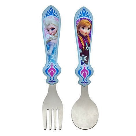 Disney Frozen Disney Anna And Elsa Flatware - Frozen - 1