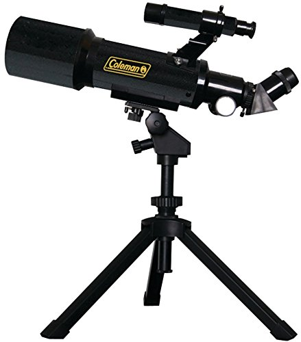 Coleman - Astrowatch Refractor Telescope (D70Mm X 400Mm) *** Product Description: Coleman - Astrowatch Refractor Telescope (D70Mm X 400Mm) Rack & Pinion Focusing Horizontal & Vertical Controls Floor Standing Tripod With Accessory Tray Finderscope ***