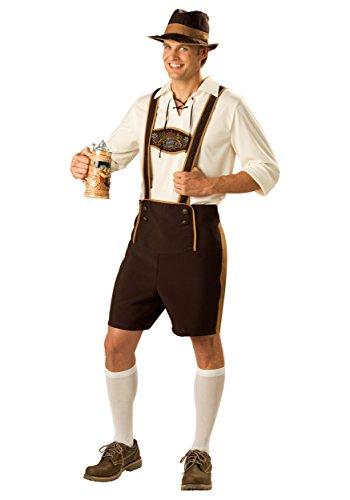Teen Bavarian Guy Costume Teen front-515233