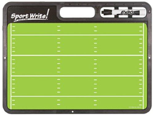 Sport Write Pro Football Dry-Erase Board (Football Coach Board compare prices)
