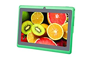 "COLAPAD 7"" A23 Google Android 4.4 OS 5 Point Capactive Touchscreen Tablet PC MID 512MB DDR 3 4GB Dual Core Dual Camera Green"