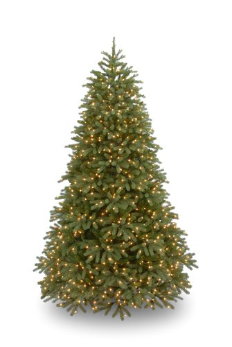 National Tree PEJF1-302-90 Feel Real Jersey Fir 1500 Clear Lights, 9-Feet