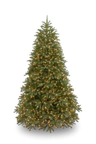 National Tree PEJF1-302-90 Feel Real Jersey Fir 1500 Clear Lights, 9-Feet