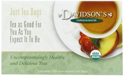 Davidson's Tea English Breakfast, 100-Count Tea Bags (Tea Packaging Bags compare prices)