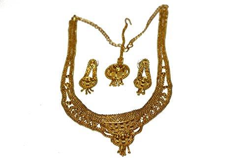 bollywood-schmuck-maruti-gold-collier-4-teilig-farbe-gold-ae127