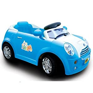Blue Kids Mini Ride on Battery/Electric Remote Car