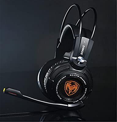 """Turproâ""""¢ G941 Virtual 7.1 Surround Sound Effect VIB2 Vibration System 4D Experience Bass Headphone Gaming Headset (Black)"""