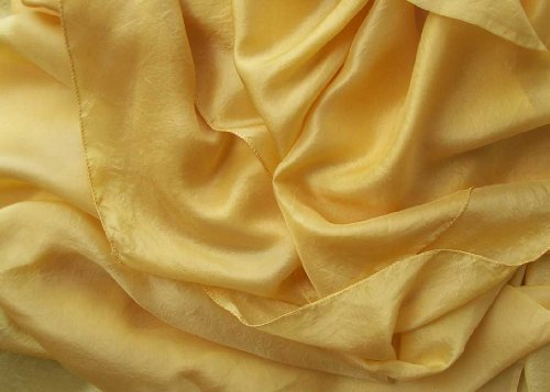 """Aztec Gold"" Belly Dance Pure Silk Veil for Belly Dancers"