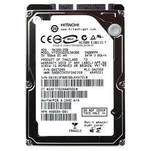 "Amazon.com: Hitachi 2.5"" 250 GB Laptop Hard Drive HTS545025B9A300"