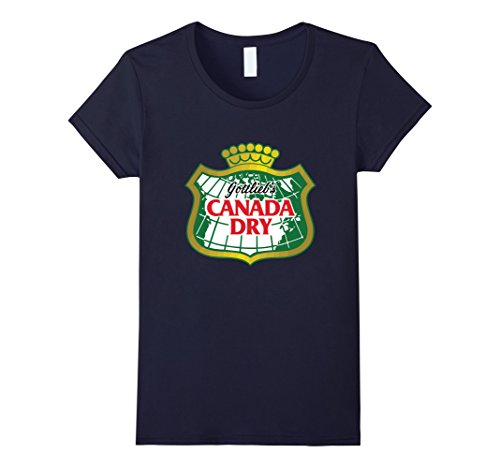 womens-t-shirt-bandit-canada-dry-gingerale-soft-drink-pop-t-shirt-medium-navy