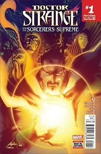 [Doctor Strange and the Sorcerers Supreme #1 Comic Book 2016 - Marvel] (Dr Strange Modern Costume)