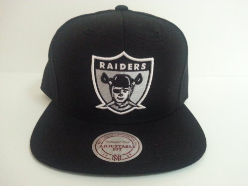 Mitchell & Ness Oakland Raiders Snapback Hat by Mitchell & Ness