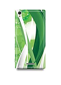 Abstract Lines Sony T3 Case