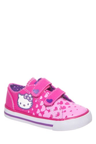 Hello Kitty Kid's Lil Joy Hook & Loop Low Top Sneaker