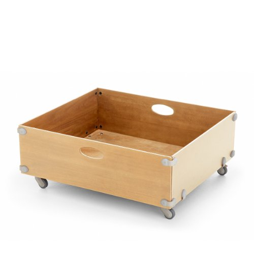 Stokke Sleepi Junior Drawer Box, Natural front-1007917
