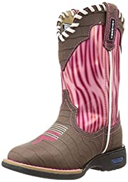 Cinch Mia Boot (Toddler/Little Kid/Big Kid),Brown/Pink,9.5 M US Toddler