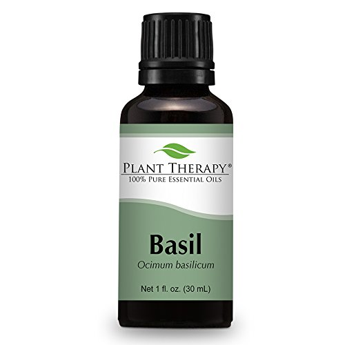 Basil Essential Oil. 30 ml (1 oz). 100% Pure, Undiluted, Therapeutic Grade.