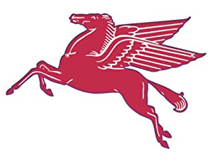"""Amazon.com - Mobil Pegasus Flying Red Horse Sign- 30"""" - Other Products"""