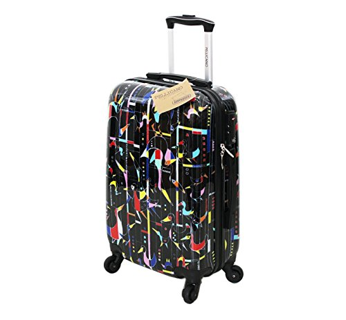 Bagaglio a Mano rigido 4 ruote Picass Pellicano misure IATA (accettato da tutte le compagnie) 55x35x20 con TSA per Stati Uniti