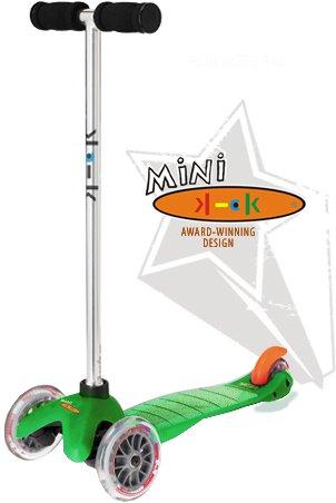 mini kick Scooter - GREEN