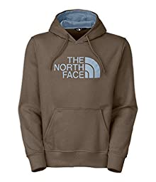 The North Face Men\'s Half Dome Hoodie, Small, Weimaraner Brown/Faded Denim