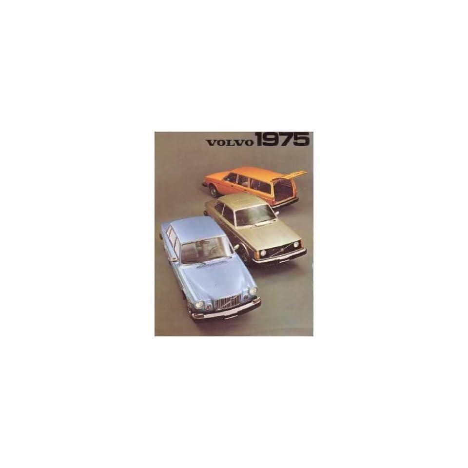 1975 Volvo 164 240 Series Sales Brochure Literature Book Advertisement Specs Automotive