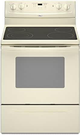 Whirlpool : WFE361LVT 30 Freestanding Electric Range Bisque