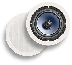 Polk Audio RC60i In-Ceiling / In-Wall Speakers (Pair, White)