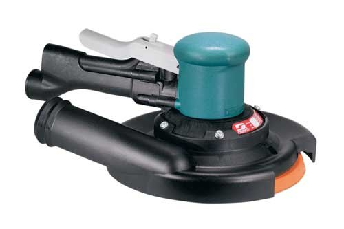 Dynabrade 58411 Self-Generated Vacuum Two-Hand Dynorbital Random Orbital Sander, 8-Inch 203Mm Diameter