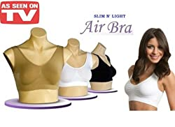 SLIM N' LIGHT Air Bra is guaranteed to fit - and designed to last