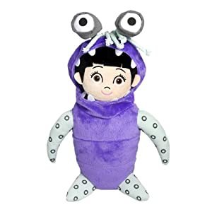 Monsters Inc 10-inch Plush Boo with Costume