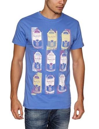 Bench Factory Printed Men's T-Shirt Royal Blue X-Large