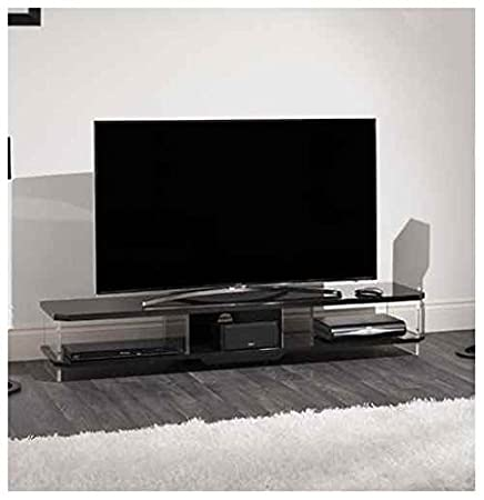 62.99 in. Wide TV Stand in Black