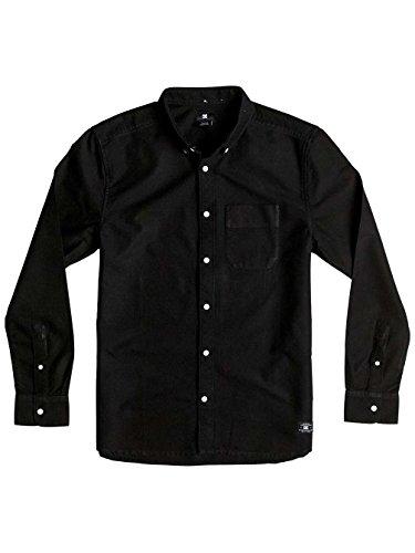Camicia A Maniche Lunghe Dc Oxford Ls3 Nero (S , Nero)
