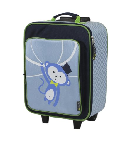 Itzy Ritzy Adventure Happens Rolling Suitcase, Monkey
